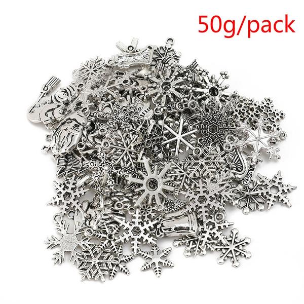 christmasjewelrydiy, christmaspendant, snowflakependant, charmpendant
