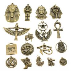 pendantearring, Jewelry, mixedegyptianseriescharm, Egyptian