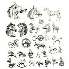 horse, Jewelry, Bracelet, mixedhorsependant