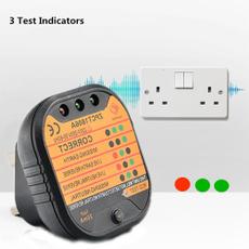 Plug, sockettester, Electric, circuitswitchsafetychecktool