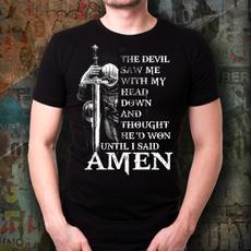 Mens T Shirt, Head, devils, Shirt