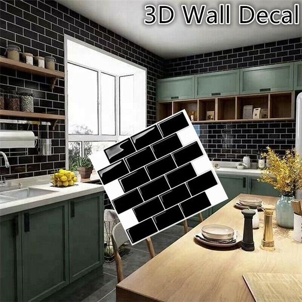 backsplashsticker, Wall Decal, selfadhesive, mosai