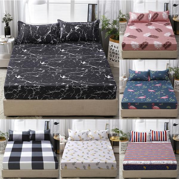 marblefittedsheet, beddingsheet, Home, mattress