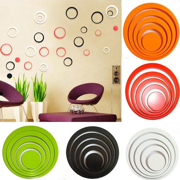 bedroomdecor, Wall Art, Wall Decal, circlesticker