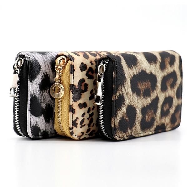 shortwallet, Fashion, purses, Leopard