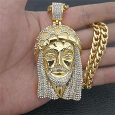 Steel, mens necklaces, Fashion necklaces, jesus
