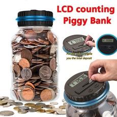 moneystoragebox, coincounter, piggybank, moneycounter