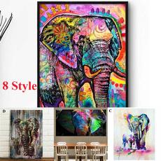 africanelephant, Fashion Accessory, living room, painted