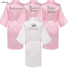 pink, gowns, weddingrobe, Wedding