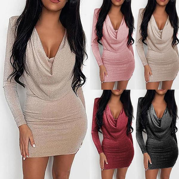 nightclub dress, Fashion, longsleeveddresse, Sleeve