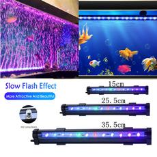 Tank, submersiblelight, aquariumdecoration, fish