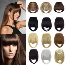 bangswig, wig, bangshairclip, Fashion