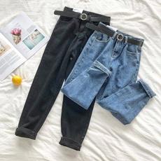 trousers, Waist, pants, springandautumn