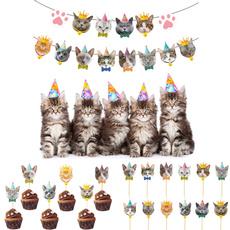 Baby, cute, catcupcaketopper, babyshowerdecoration