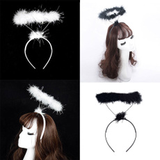 hairstyle, fluffyhairband, Angel, Hair Extensions