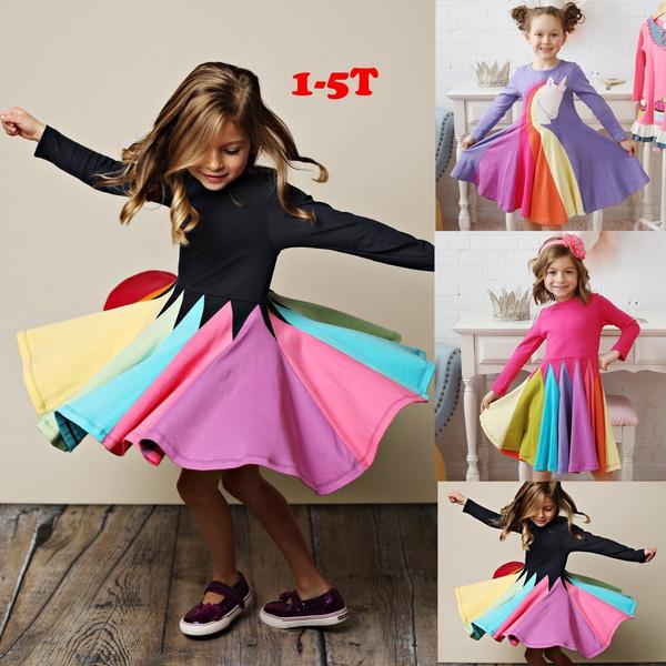 rainbow, Princess, Sleeve, cute
