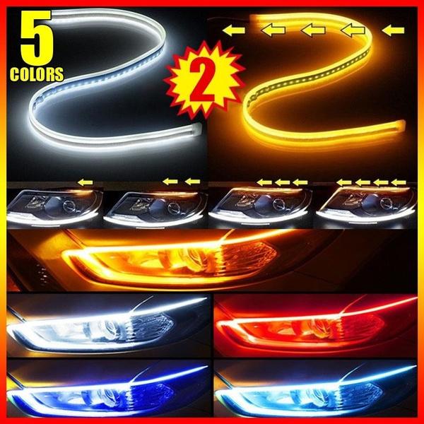 LED Strip, flowamber, turnsignal, Cars