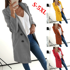 Casual Jackets, Moda, Invierno, Long Coat