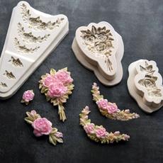 Kitchen & Dining, Flowers, diysiliconemold, cakedecorationtool