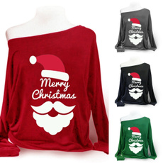 christmascustome, Plus Size, Christmas, one-shoulder