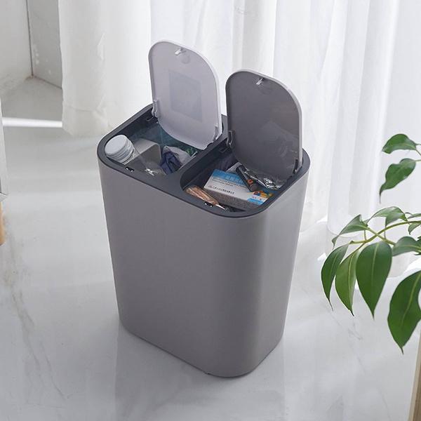 Bathroom, classifiedtrashcan, living room, garbagecan