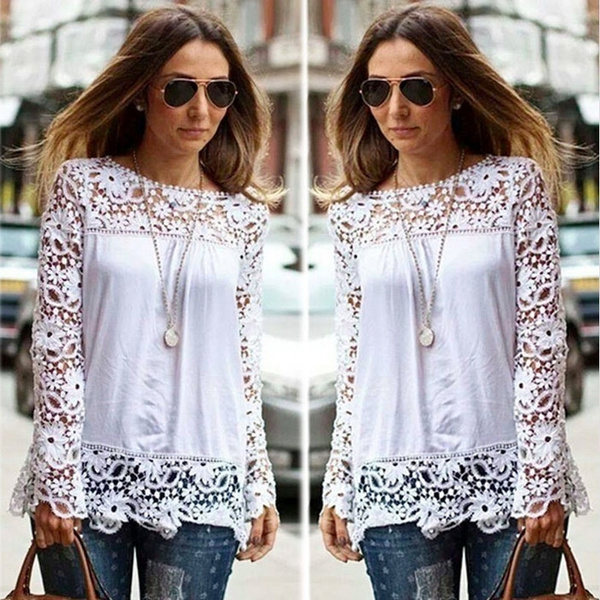 Chiffon Summer Shirt, Fashion, Lace, chiffon