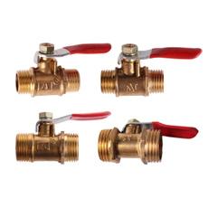Brass, maletomale, irrigationsystem, coupleradapter