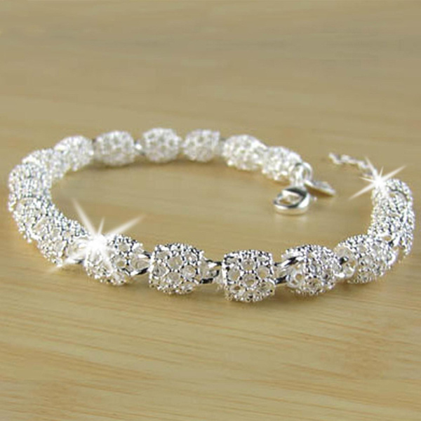 Sterling, hollowoutbead, Fashion, 925 sterling silver