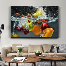 water, Decor, paintingdecoration, fruitoilpainting