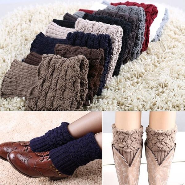 bootaccessorie, fur, winterwarmer, knitsock