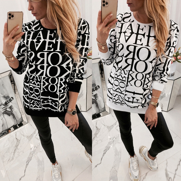 Fashion, Tops & Blouses, pullover women, Sleeve