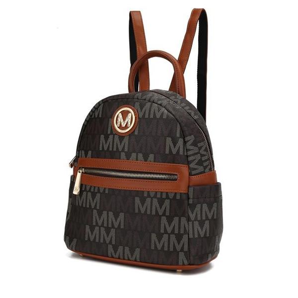 mia, brown, Tote Bag, purses