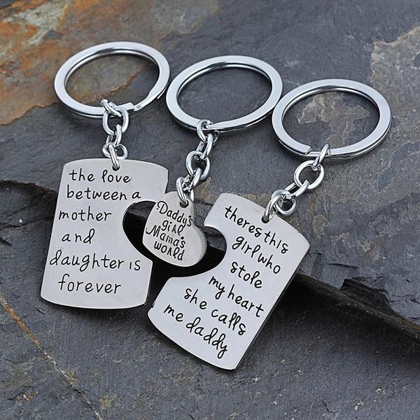 Family, keypendant, Key Chain, Jewelry