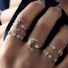 Sterling, bohemia, bohemiaring, crystal ring