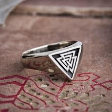viking, ringsformen, amuletring, Stainless Steel