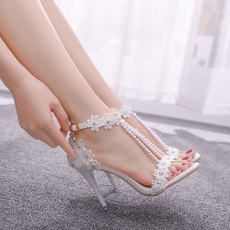 Lace, Woman Shoes, wedding shoes, Wedding