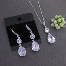 DIAMOND, 925 sterling silver, Gifts, Pearl Earrings