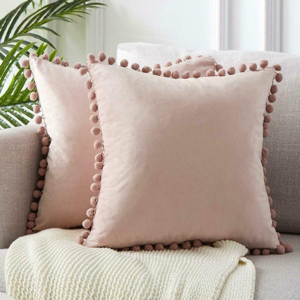 velvet, Cover, Pillowcases, decoration
