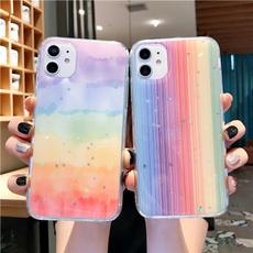 IPhone Accessories, rainbow, Phone, iphonexrcase