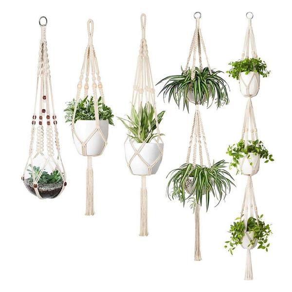 plantpotholder, Home & Kitchen, Plants, flowerpotholderrope