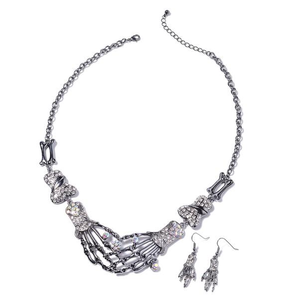 Cubic Zirconia, Bridal Jewelry Set, Mystic, Stainless Steel