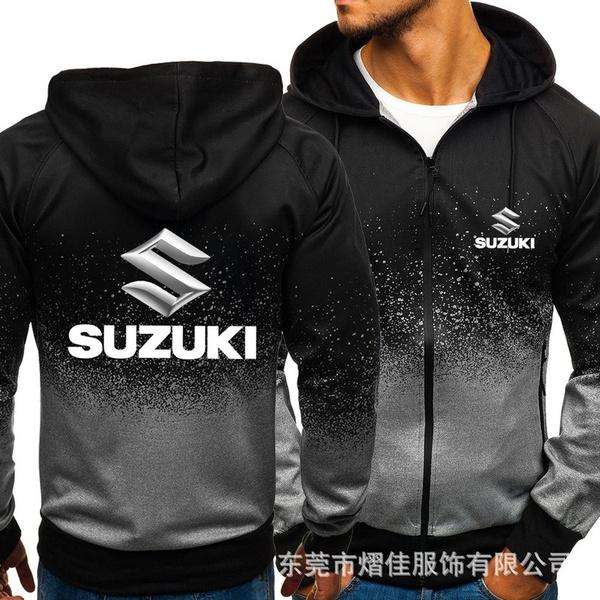 Suzuki Fashionable Hoodie Mens Large