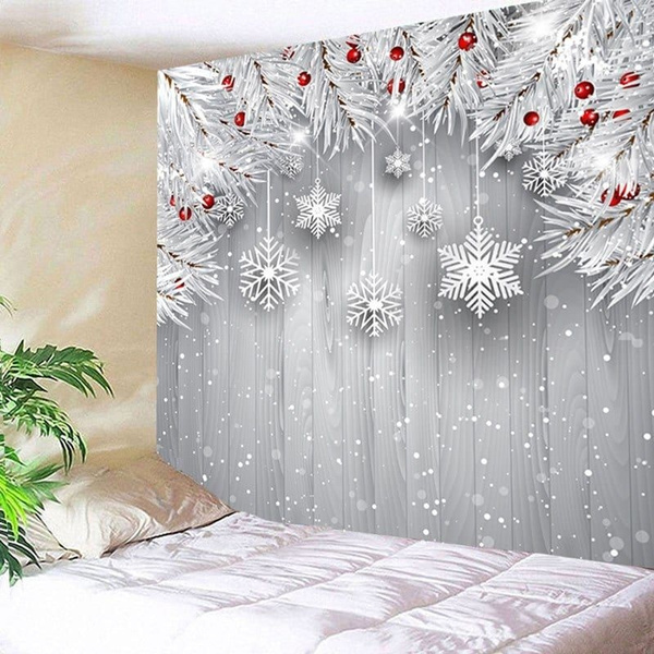 Decor, christmastapestry, Christmas, Home & Living