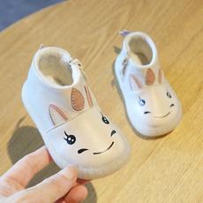 cute, cottonpaddedshoe, softbottom, Shoes