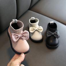 cottonpaddedshoe, softbottom, velvet, leather shoes