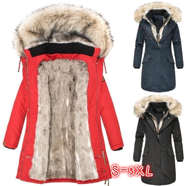 Jacket, Plus Size, fur, Outerwear