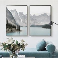art print, Mountain, Wall Art, Home Decor