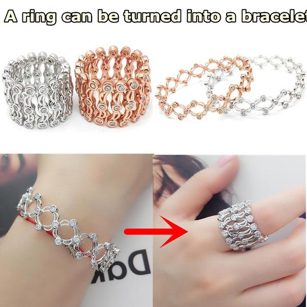 Girlfriend Gift, stackablering, luxurybracelet, Jewelry