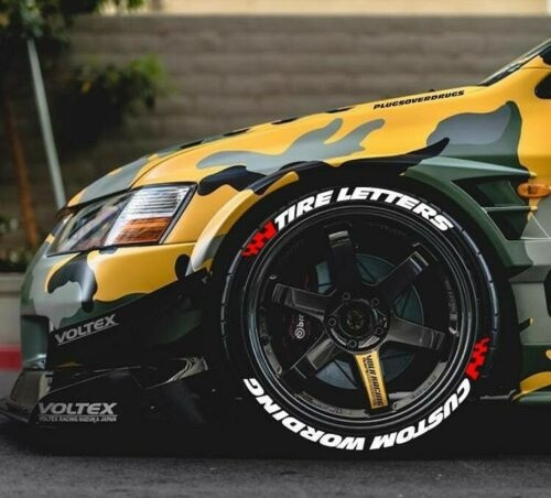 Car Sticker, Letters, Tire, 15161718