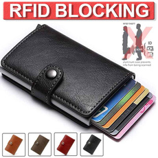 Fashion, aluminumcardcase, rfidwallet, Bags